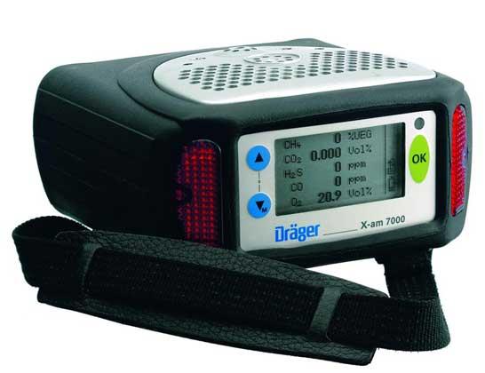 Многоканальный газоанализатор DRAGER X-AM 7000