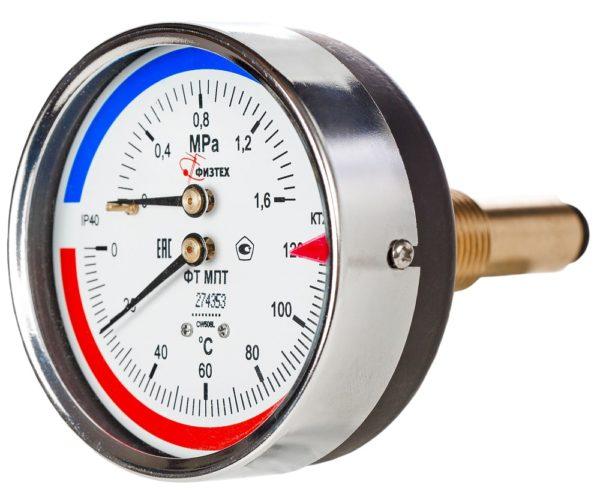 Термоманометры МПТ d.80