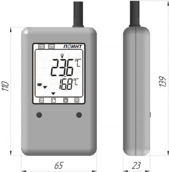 Измеритель температуры и влажности (гигрометр) ПИ-002/1